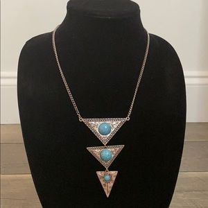 Boho statement necklace.